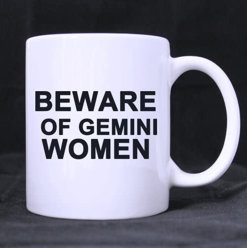 Amazoncom Funny Quotes Mugbeware Of Gemini Women Ceramic