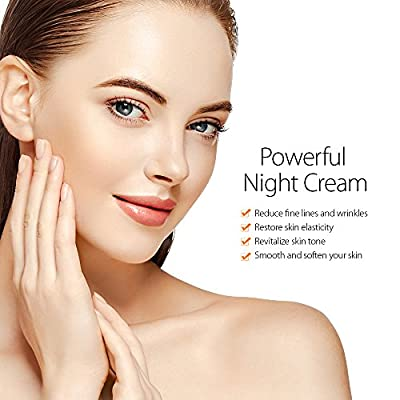 Elizavecca Milky Piggy Wrinkle care Revitalize EGF Retinol Cream for Anti Aging Pore Minimizing, Brightening Facial Treatment & Night and Day moisturizing Cream