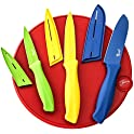 Fiesta 7-Pc. Cutting Board & Colored Knives Set