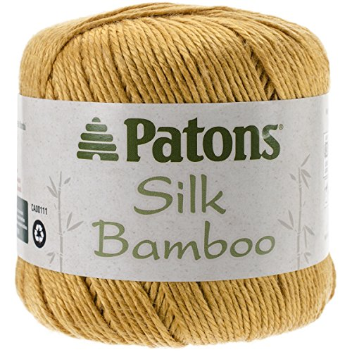 Brand New Silk Bamboo Yarn-Saffron Brand New