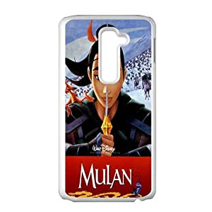 SANLSI Mulan Case Cover For LG G2 Case