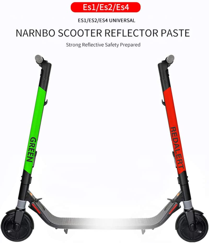 FOLOU Scooter Reflective Stickers Waterproof Scooter Motorcycle ...
