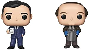 Funko Pop! TV: The Office - Michael Scott & Pop! TV: The Office - Kevin Malone with Chili