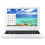 Acer Chromebook, 11.6-Inch, CB3-111-C670 (Intel Celeron, 2GB, 16GB SSD, White)  **Discontinued by Manufacturer**
