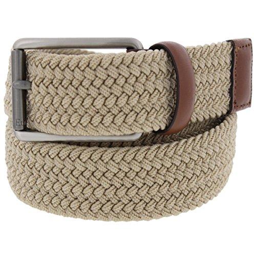 Perry Ellis Men's Stretch Belt, Khaki, (Perry Ellis Khaki)