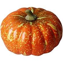 SANNYSIS Foam Artificial Pumpkin for Halloween Garden Home Decor Toys 7.87 inch