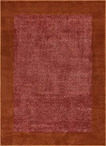 - Well Woven Frontier Border Terracotta Red Geometric 20 x 31 (20