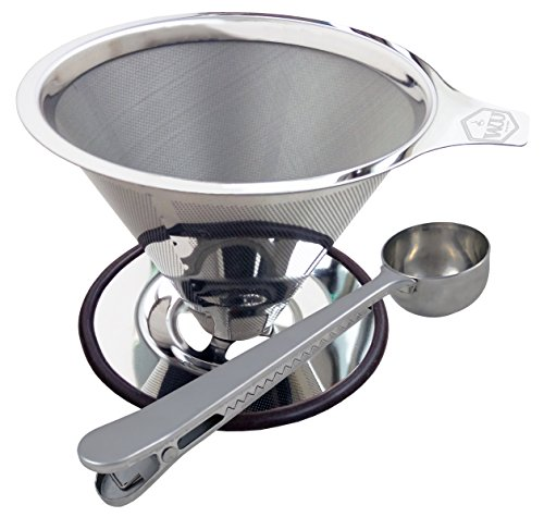 WJJ - Stainless Steel Pour Over Filter