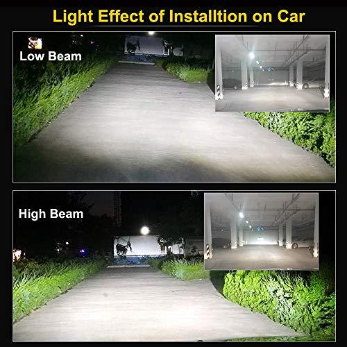 HSUN-LED-Headlight-BulbsSuper-Bright-8000-Lumens-All-in-One-Conversion-KitReplace-for-Car-Halogen-LightsPlug-and-Play6500K-White