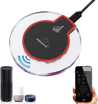 Mando a distancia universal por infrarrojos para aire acondicionado de TV, DVD, uso de la aplicación Tuya Smart Life, control de voz, funciona con Alexa/Google Home/IFTTT: Amazon.es: Electrónica