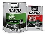 U-Pol 6303 Rapid System Primer Unique New Rapid Cure Technology Primer 1 Gallon Kit /W Hardener