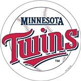 MLB Minnesota Twins 12-Inch Vinyl Logo Magnet