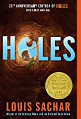 Winner of the Newbery Medal and the National Book Award! This #1New York Timesbestselling, modern classic in which boys are forced to dig holes day in and day out is now available with a splashy new look.Stanley Yelnats is under a curse. A ...