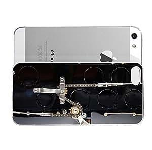 Amazon.com: iPhone 5S Case Tyqe59 Carros Reviso Mundo Rat Rod History