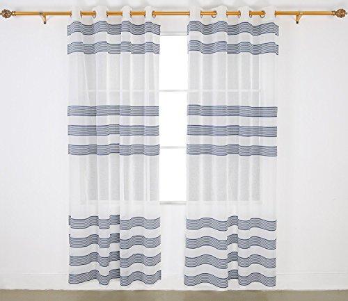 Dark Blue Stripe Design - 1