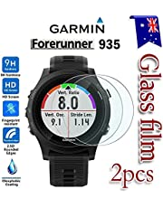 [2-Pack] Garmin Forerunner 935 Tempered Glass LCD Screen Protector Film Guard For Garmin Forerunner 935 Smart Watch