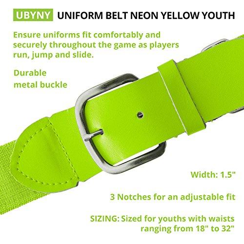 yellow baseball belt - 8