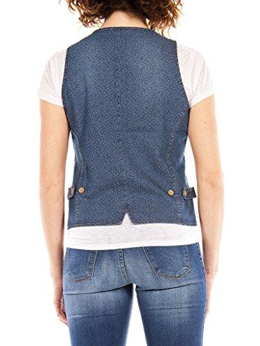 490 Slim Taille Manches 710 Wash Femme Gilet En Bleu Lavage Moyen Pour Sans Jean Carrera Jeans stone 4qw80wI