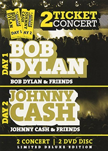 CASH JOHNNY / DYLAN BOB TWO TICKETS CONCERTS ()