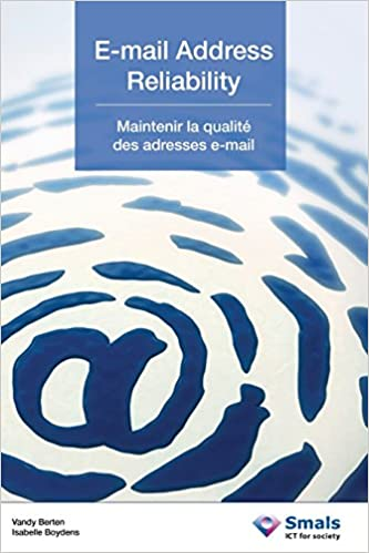 E Mail Address Reliability French Edition Isabelle Boydens Vandy