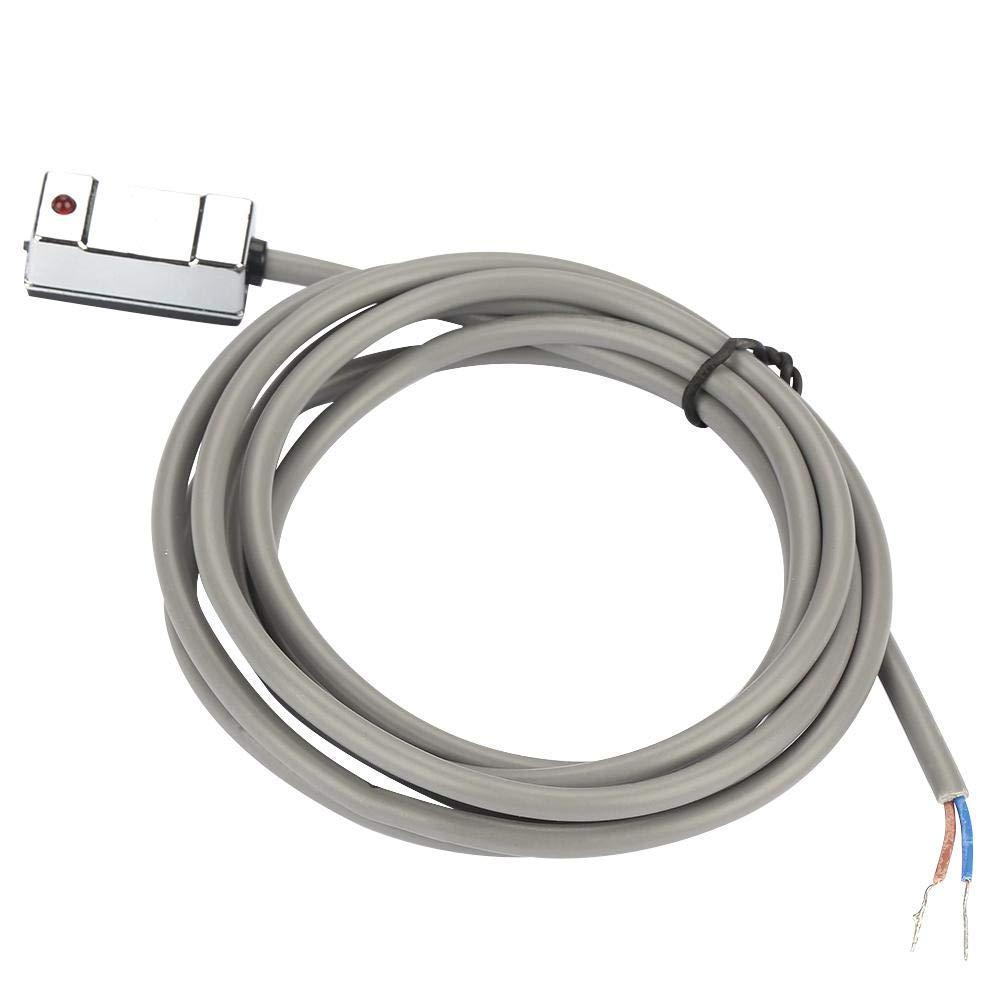 240V Sensor magn/ético Reed Switch para Cilindro CS1-U Cilindro neum/ático de aire magn/ético Interruptor magn/ético Reed Sensor DC AC 5V