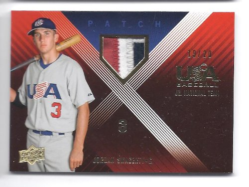 Upper Deck JORDAN SWAGERTY 2008 USA Baseball Junior Natio...