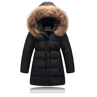 1639e9ea3 Amazon.com  Seeduck Big Girls  Winter Parka Down Coat Puffer Jacket ...