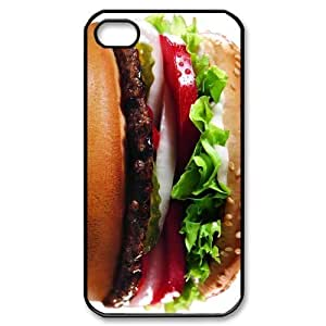 McDonald's Burger King Funny DIY Custom Hard Plastic Back Case Cover for iPhone 4 4s Kimberly Kurzendoerfer