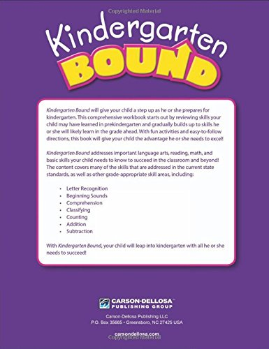 Kindergarten Bound: Thinking Kids, Carson-Dellosa Publishing ...