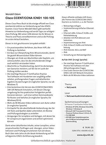 Cisco CCENT/CCNA ICND1 100-105: Das offizielle Handbuch zur ...