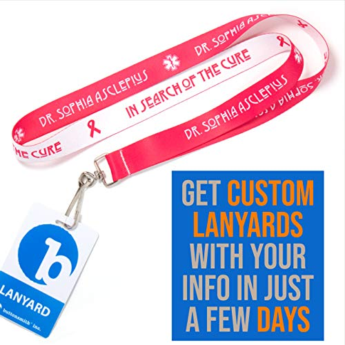 Buy personalized lanyards with id holder
