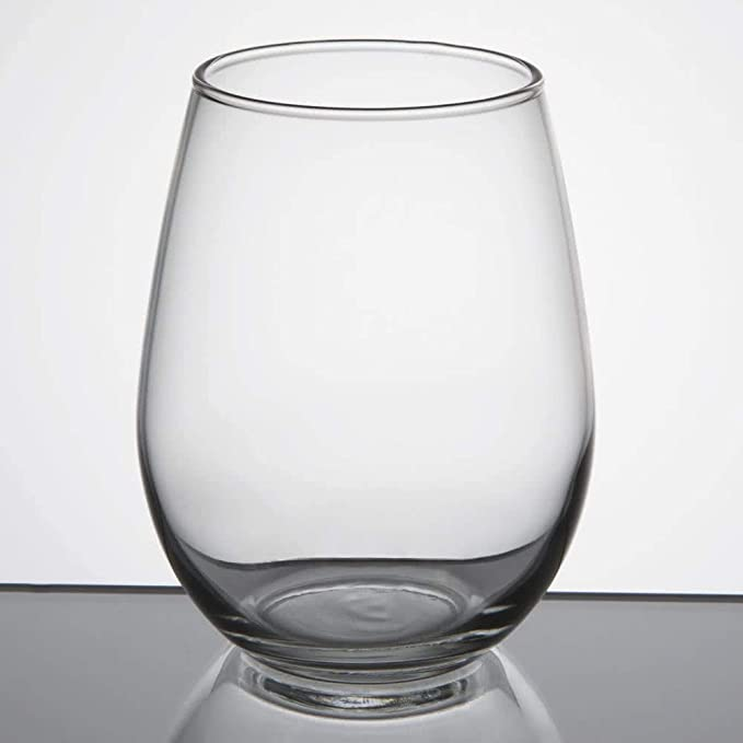Set Of 6 Stemless 12 Oz White Wine Glass Libbey 217 W Signature Cocktail Picks Wine Glasses