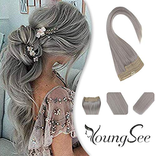 Arrival%E3%80%91Youngsee Extensions 12inch Invisible Double