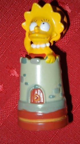 Simpson Simpsons 3-D Chess Piece, Lisa Rooke, Brown Team (1998)