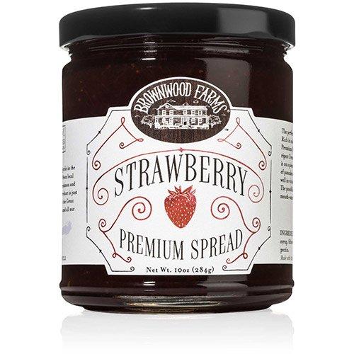 - Strawberry Premium Spread by Brownwood Farms (1.096 pound)