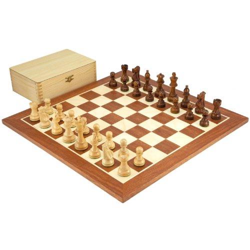 French Knight Chess Set - 8