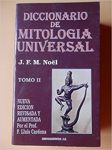 Diccionario de Mitologia Universal - 2 Tomos (Spanish ...