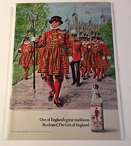 1972 Beefeater Gin England