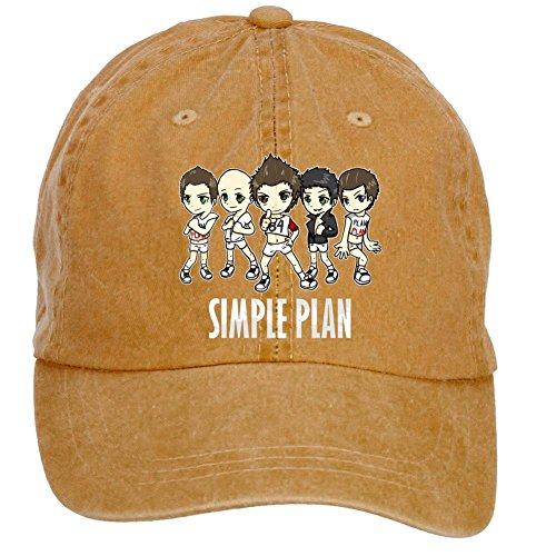(Tommery Unisex Simple Plan Hip Hop Baseball Caps)