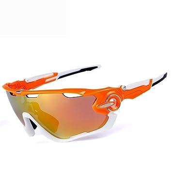 FRFG O9270 Gafas de Sol polarizadas Ciclismo al Aire Libre Gafas de Bicicleta Movimiento de Gafas
