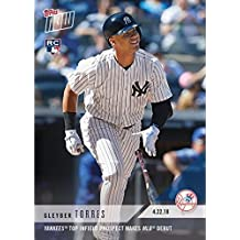 2018 Topps Now Baseball #112 Gleyber Torres Rookie Card - 1st Official Rookie Card - Only 6,552 made!
