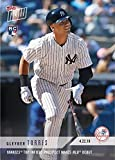 #1: 2018 Topps Now Baseball #112 Gleyber Torres Rookie Card - 1st Official Rookie Card - Only 6,552 made!