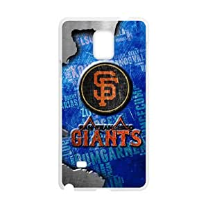 Baseball San Francisco Giants Team Design Background Custom Case for SamSung Galaxy Note4.
