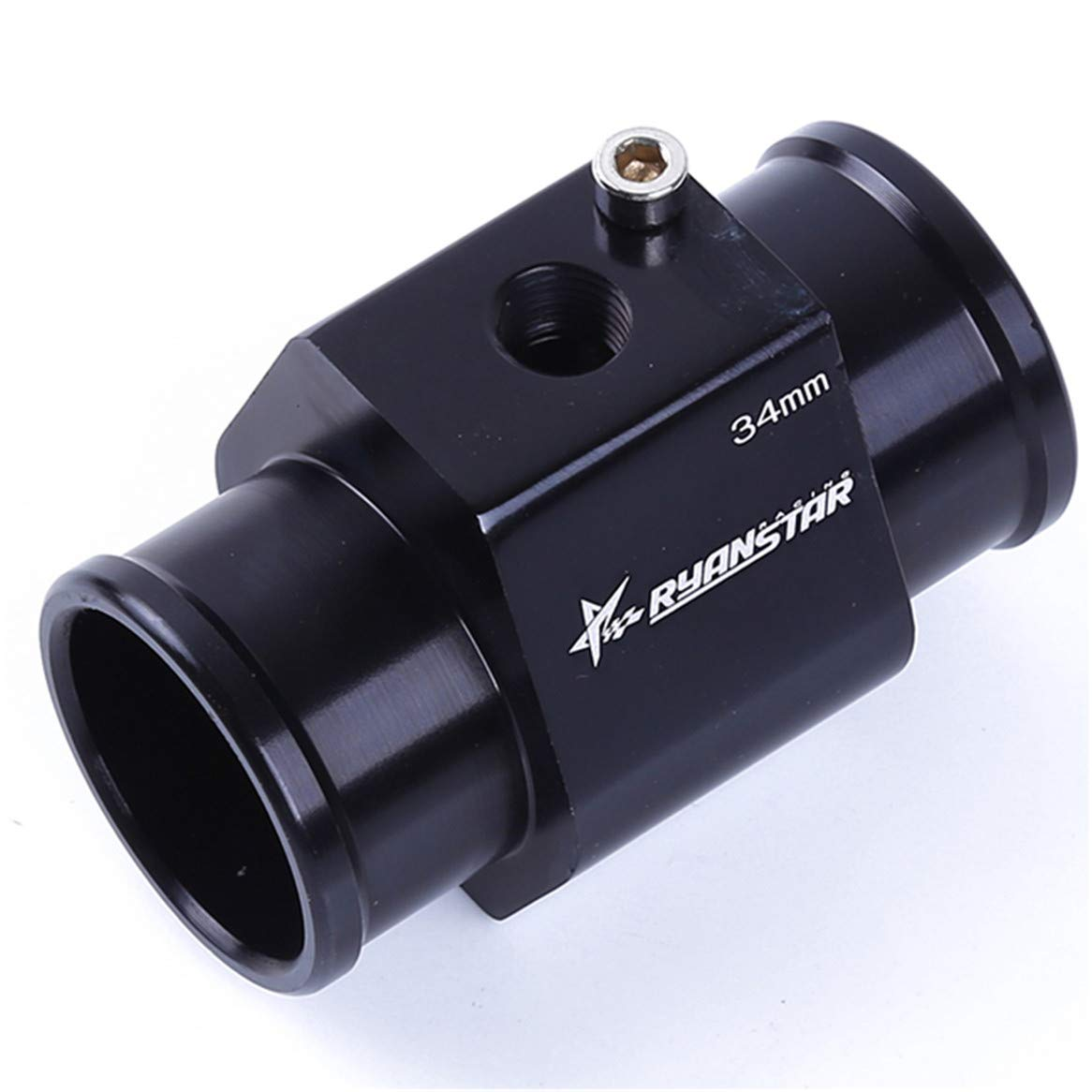 38MM Botreelife Universal Metal Water Temp Temperature Joint Pipe Sensor Gauge Radiator Hose Adapter