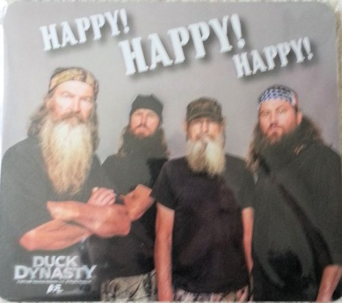 Happy Happy Official Duck Dynasty Licensed Mousepad A/&E Happy