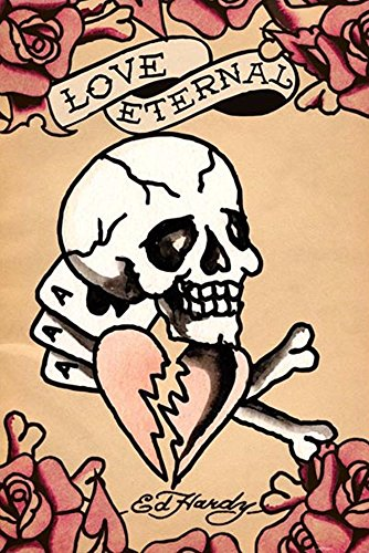Love Eternal by Ed Hardy Wall Picture, Size 24 x 36 inches