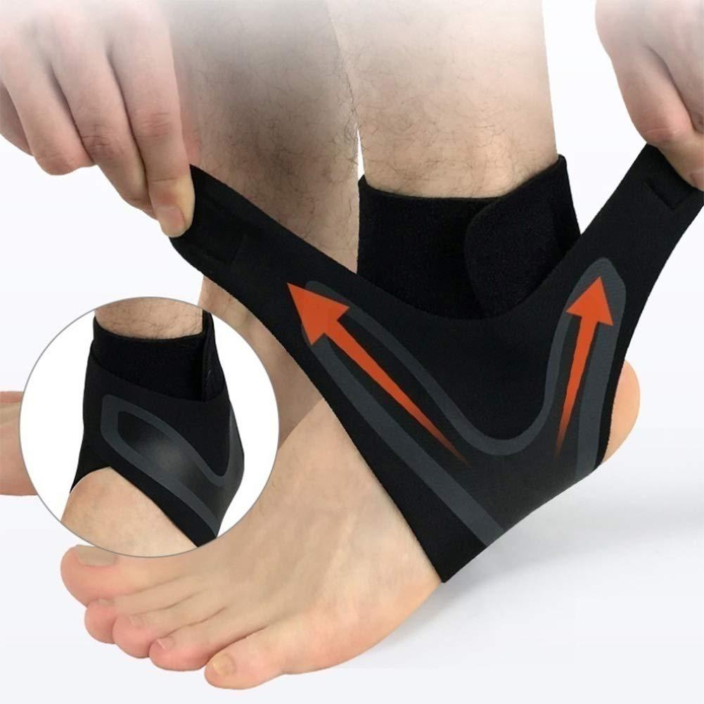 Modaka Ankle Support Pied Droit Chevill/ère Soutien Respirante Chevill/ère Professionnelle Compression Protection des Pieds Size S
