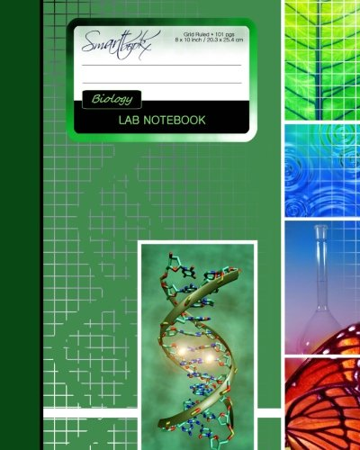 Lab Notebook: Biology Laboratory Notebook for Science Student/Research/College [ 101 pages * Perfect Bound * 8 x 10 inch