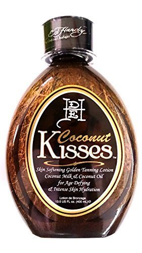 Ed Hardy Coconut Kisses Golden Tanning Lotion, 13.5 oz (Best Indoor Tanning Lotion Without Bronzer)