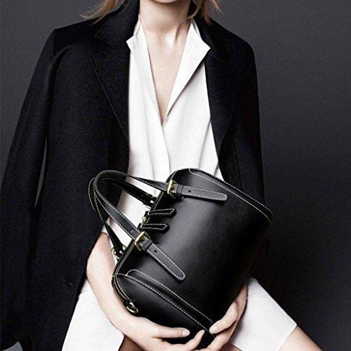 et Black sac Retro oreiller féminin Bag Lxf20 Messenger à Sac à main américain Européen main Sac PU AanXqt
